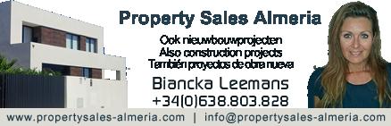 Verkoop huizen appartementen Almeria Spanje